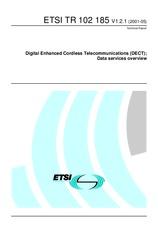 ETSI TR 102185-V1.2.1 15.5.2001