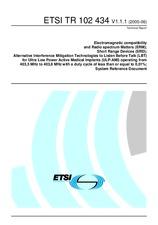 ETSI TR 102434-V1.1.1 22.6.2005