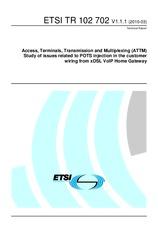 ETSI TR 102702-V1.1.1 11.3.2010