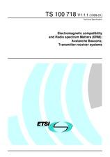 ETSI TS 100718-V1.1.1 26.1.1999