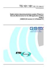 ETSI TS 101181-V6.1.0 31.7.1998