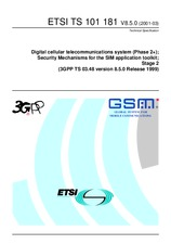 ETSI TS 101181-V8.5.0 31.3.2001