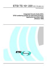 ETSI TS 101220-V3.0.0 26.5.2000