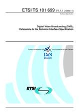 ETSI TS 101699-V1.1.1 22.11.1999