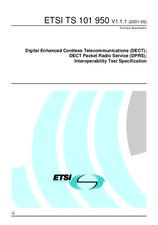 ETSI TS 101950-V1.1.1 15.5.2001