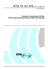 ETSI TS 101978-V1.1.1 3.7.2001