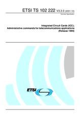 ETSI TS 102222-V3.3.0 31.10.2001