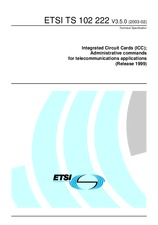 ETSI TS 102222-V3.5.0 25.2.2003