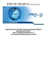 ETSI TS 102527-5-V1.2.1 15.1.2014