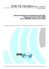 ETSI TS 102640-4-V2.1.1 18.1.2010
