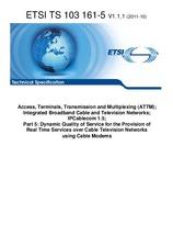 ETSI TS 103161-5-V1.1.1 27.10.2011