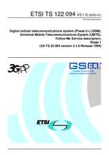 ETSI TS 122094-V3.1.0 28.1.2000