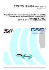 ETSI TS 123094-V3.0.0 28.1.2000