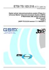 ETSI TS 123218-V7.7.1 24.10.2007