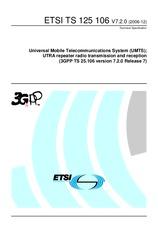 ETSI TS 125106-V7.2.0 21.12.2006