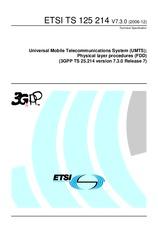 ETSI TS 125214-V7.3.0 21.12.2006