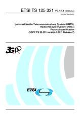 ETSI TS 125331-V7.12.1 21.4.2009