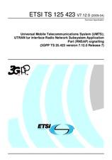 ETSI TS 125423-V7.12.0 21.4.2009