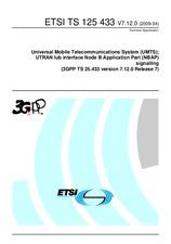 ETSI TS 125433-V7.12.0 21.4.2009