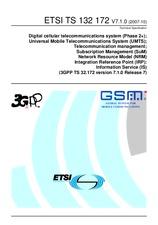 ETSI TS 132172-V7.1.0 26.10.2007