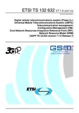 ETSI TS 132632-V7.1.0 30.3.2007