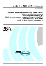 ETSI TS 132642-V7.1.0 31.3.2007
