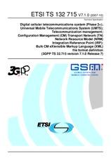ETSI TS 132715-V7.1.0 26.10.2007
