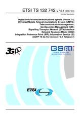 ETSI TS 132742-V7.0.1 31.3.2007