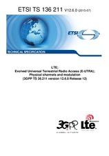 ETSI TS 136211-V12.6.0 27.7.2015