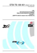 ETSI TS 136421-V10.0.1 16.5.2011