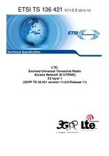 ETSI TS 136421-V11.0.0 18.10.2012