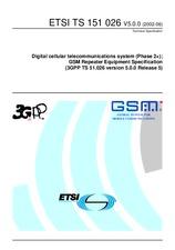 ETSI TS 151026-V5.0.0 30.6.2002