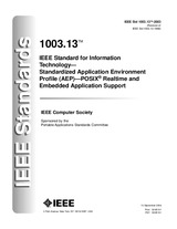 Náhled IEEE 1003.13-2003 10.9.2004