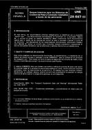 UNE 28587:1986 15.11.1986 - AIRCRAFT. REQUIREMENTS FOR ON BOARD WEIGHT AND BALANCE CONTROL SYSTEMS.