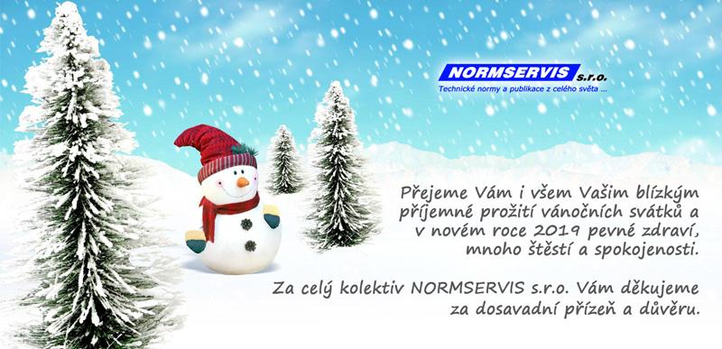 Přejeme Vám i všem Vašim blízkým příjemné prožití vánočních svátku a v novém roce 2019 pevné zdraví, mnoho štěstí a spokojenosti.