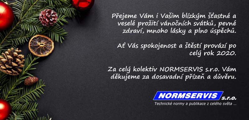 Přejeme Vám i všem Vašim blízkým příjemné prožití vánočních svátku a v novém roce 2020 pevné zdraví, mnoho štěstí a spokojenosti.