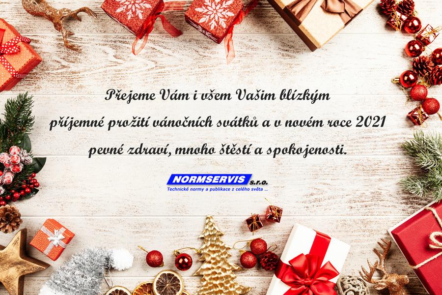 Přejeme Vám i všem Vašim blízkým příjemné prožití vánočních svátků a v novém roce 2021 pevné zdraví, mnoho štěstí a spokojenosti.