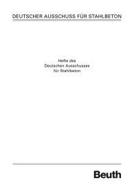 Deutscher Ausschuss für Stahlbeton im DIN Deutsches Institut für Normung e.V. 423DAfStb-Heft 423; Experimentelle Untersuchungen des Trag- und Verformungsverhaltens schlanker Stahlbetondruckglieder mit zweiachsiger Ausmit 16.3.1992
