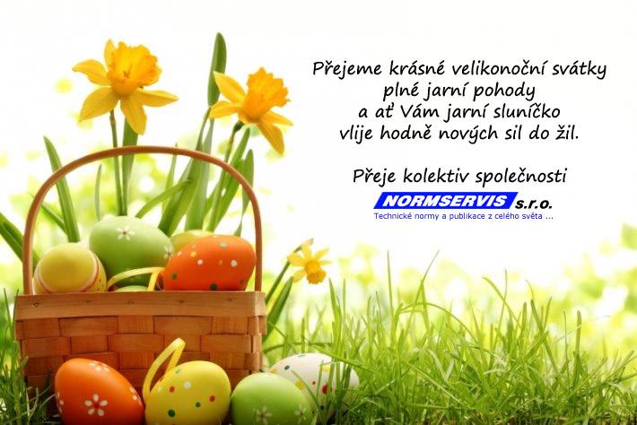 Přejeme krásné velikonoční svátky plné jarní pohody a ať Vám jarní sluníčko vlije hodně nových sil do žil.